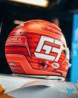 George Russell's 2021 Italian Grand Prix helmet design