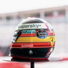 Carlos Sainz Jnr's 2021 Italian Grand Prix helmet design