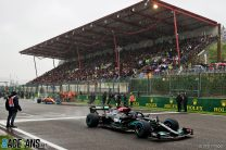 """Hamilton offers """"exclusive gift"""" to fans who attended Belgian GP wash-out"""