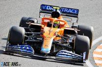 Lando Norris, McLaren, Zandvoort, 2021