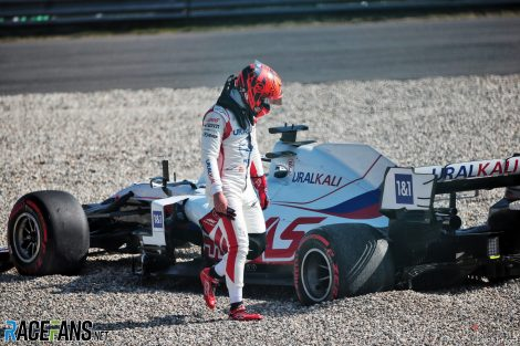 Nikita Mazepin, Haas, Zandvoort, 2021
