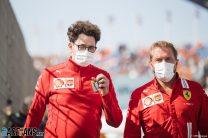 Mattia Binotto, Ferrari, Zandvoort, 2021