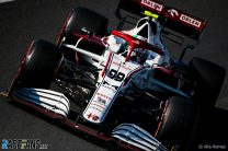 """Giovinazzi hails """"mega"""" lap to secure seventh after wheelnut scare in Q2"""