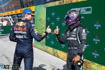 Max Verstappen, Lewis Hamilton, Zandvoort, 2021