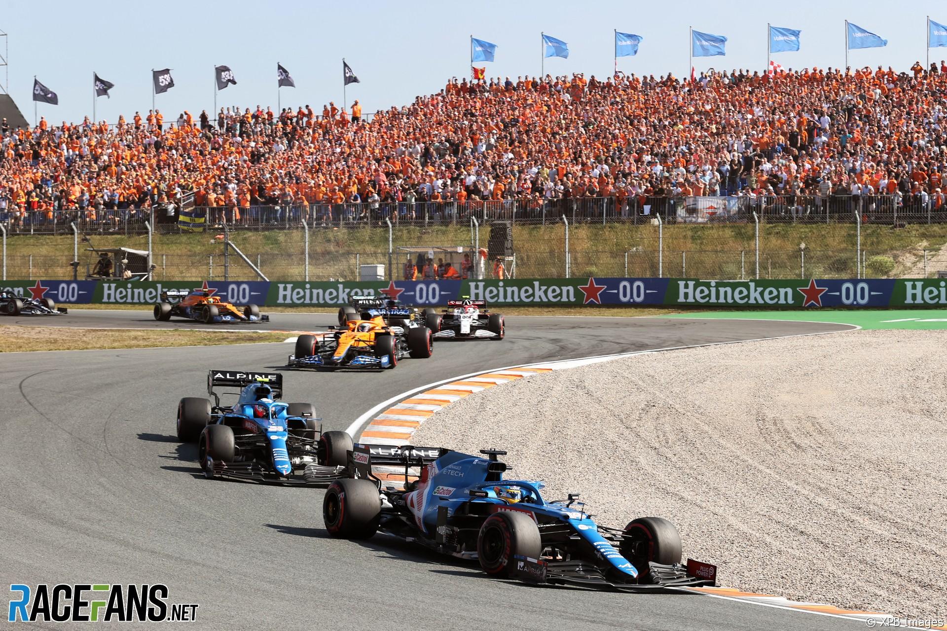 Fernando Alonso, Alpine, Zandvoort, 2021