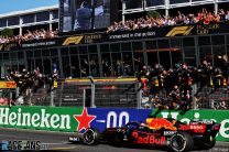 """Verstappen: """"Incredible"""" to deliver home win after difficult fight with Mercedes"""