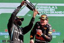 Verstappen wins Dutch GP and reclaims championship lead from Hamilton