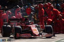 Carlos Sainz Jnr, Ferrari, Zandvoort, 2021