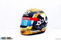 Yuki Tsunoda's 2021 Italian Grand Prix helmet design