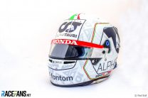 Pierre Gasly's 2021 Italian Grand Prix helmet design