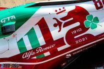 Alfa Romeo's special livery, Monza, 2021