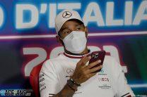 Lewis Hamilton, Mercedes, Monza, 2021