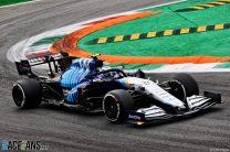 Nicholas Latifi, Williams, Monza, 2021