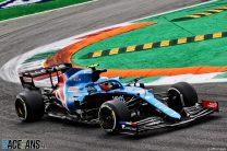 Esteban Ocon, Alpine, Monza, 2021
