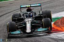 Bottas beats Hamilton to pole for Monza sprint qualifying race
