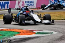 George Russell, Williams, Monza, 2021