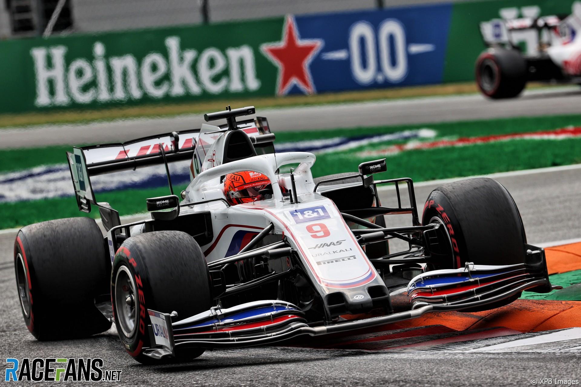 Nikita Mazepin, Haas, Monza, 2021