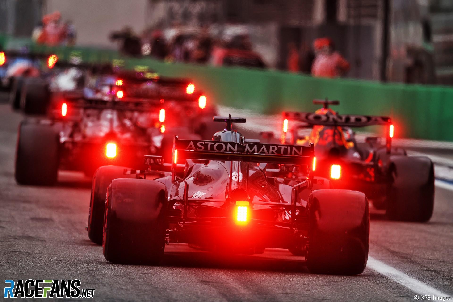 Lance Stroll, Aston Martin, Monza, 2021