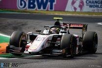 Pourchaire runs away with F2 win after hectic race
