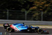 Fernando Alonso, Alpine, Monza, 2021