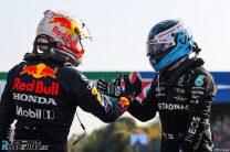Max Verstappen, Valtteri Bottas, Monza, 2021
