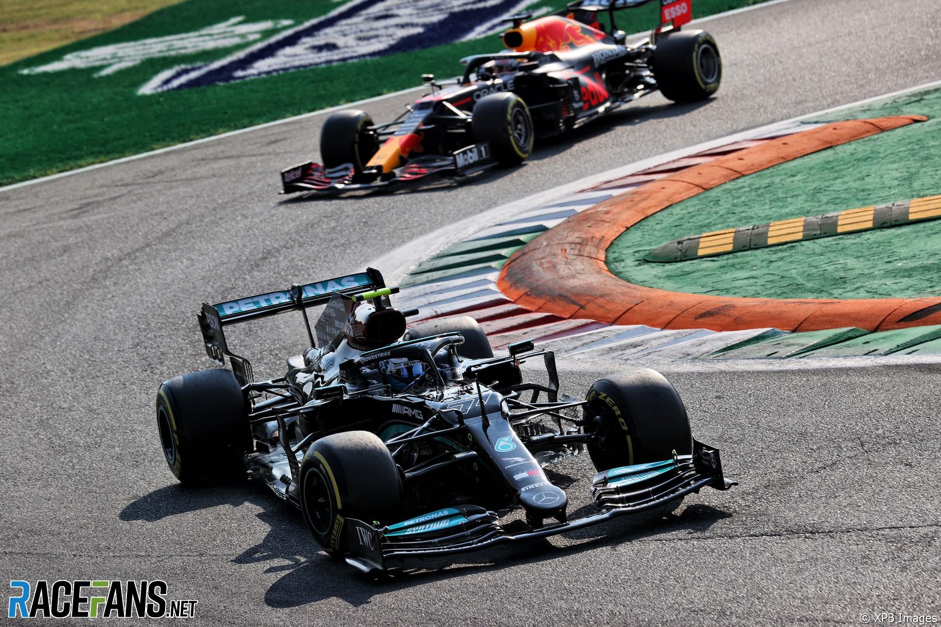 Valtteri Bottas, Mercedes, Monza, 2021