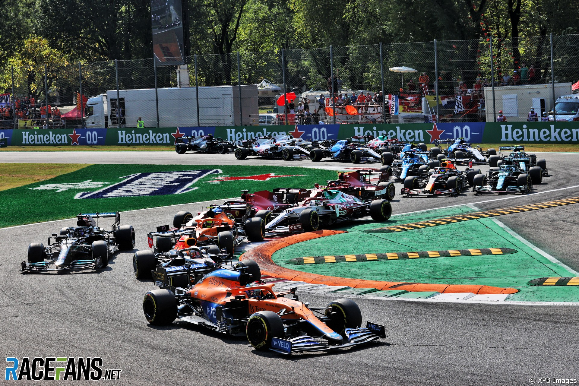 Daniel Ricciardo, McLaren, Monza, 2021