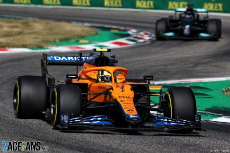 Lando Norris, McLaren, Monza, 2021