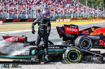Hamilton and Verstappen blame each other over crash and lap one incident