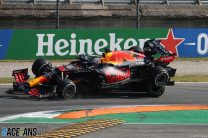 Verstappen given three-place grid penalty for Hamilton crash