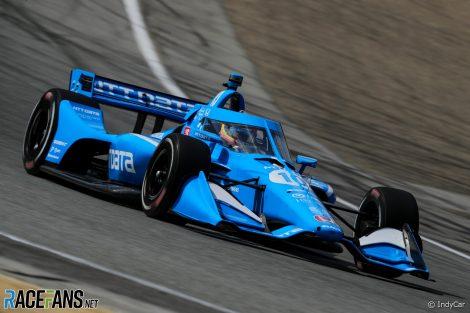 Alex Palou, Ganassi, IndyCar, Long Beach, 2019