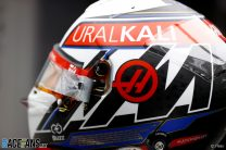 Nikita Mazepin's 2021 Russian Grand Prix helmet