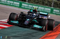 Mercedes stay on top after Giovinazzi crash disrupts second practice