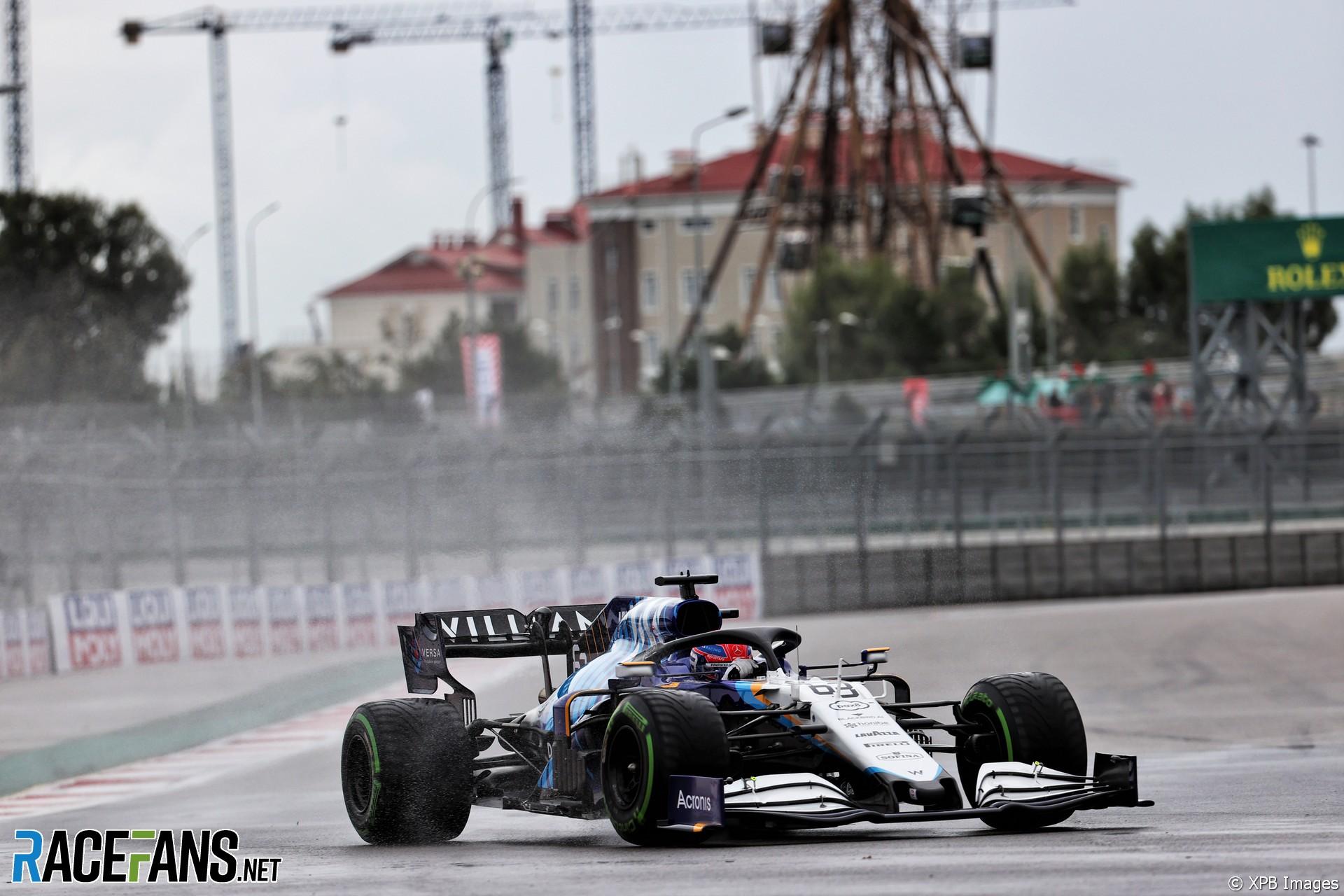 George Russell, Williams, Sochi Autodrom, 2021