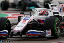 Tyre warm-up problems behind Mazepin's four-second deficit to Schumacher