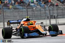Norris grabs first F1 pole at Sochi after mistakes leave Hamilton fourth