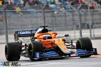 Daniel Ricciardo, McLaren, Sochi Autodrom, 2021