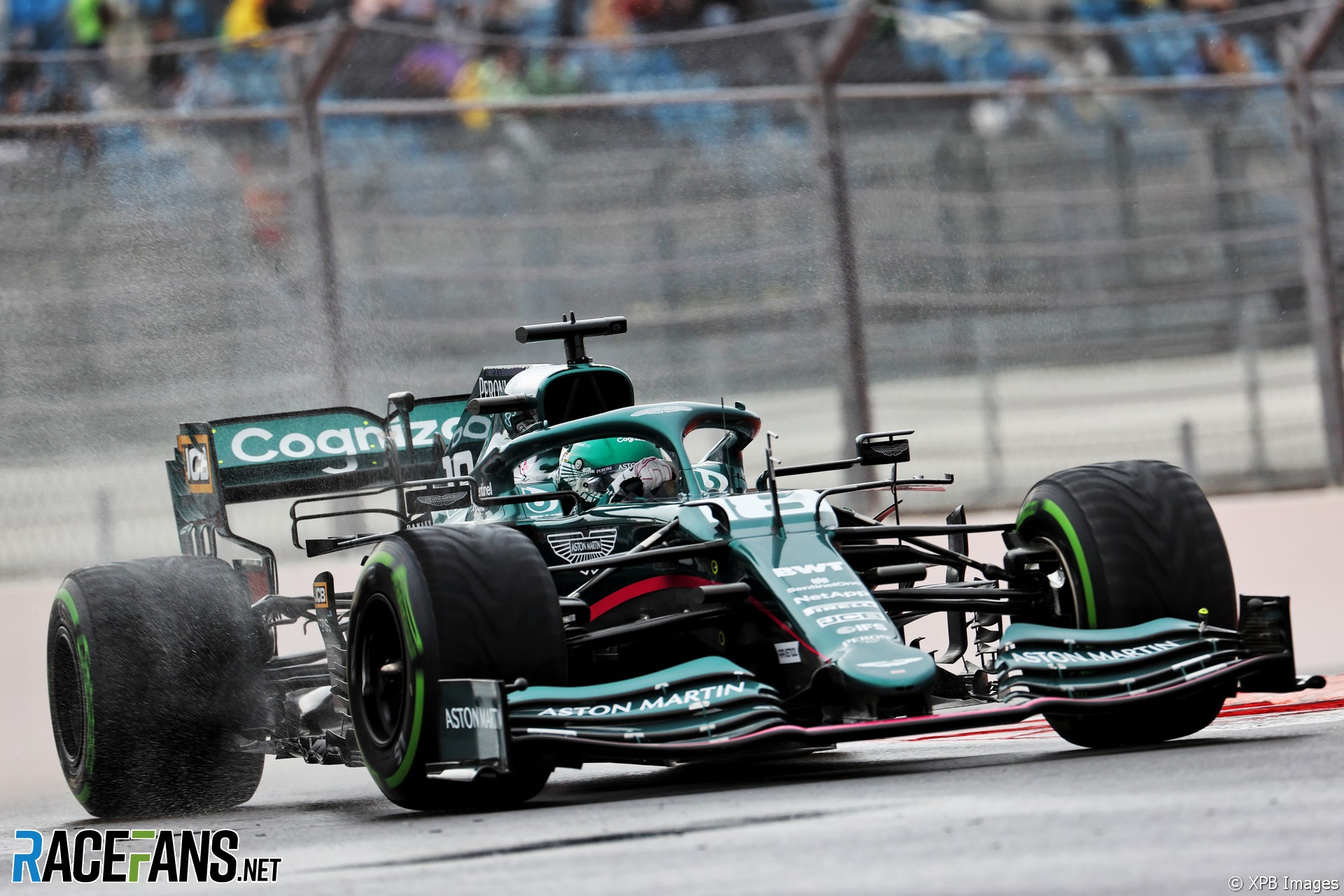 Stroll reaches eight penalty points after Gasly clash | 2021 Russian Grand Prix