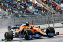 Norris doubted switch to slicks would pay off before pole-winning run