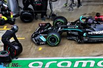"""Pit lane crash """"nothing to do with pressure"""" of championship – Hamilton"""