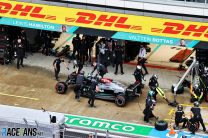 """Hamilton's pit wall crash """"not what you expect from a champion"""""""