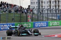 2021 Russian Grand Prix race result