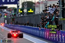 """Hamilton """"can't take credit"""" for race-winning switch to intermediates"""