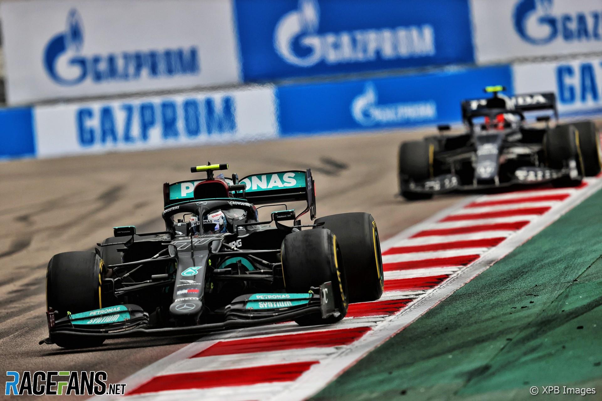 Valtteri Bottas, Mercedes, Sochi Autodrom, 2021