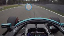 """Bottas said he """"ran over a squirrel"""" on his way to pole position"""