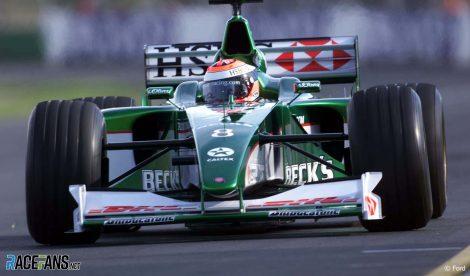 Johnny Herbert, Jaguar, 2000