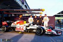 Sergio Perez, Toyoharu Tanabe, Masashi Yamamoto, Max Verstappen, Red Bull, Istanbul Park, 2021