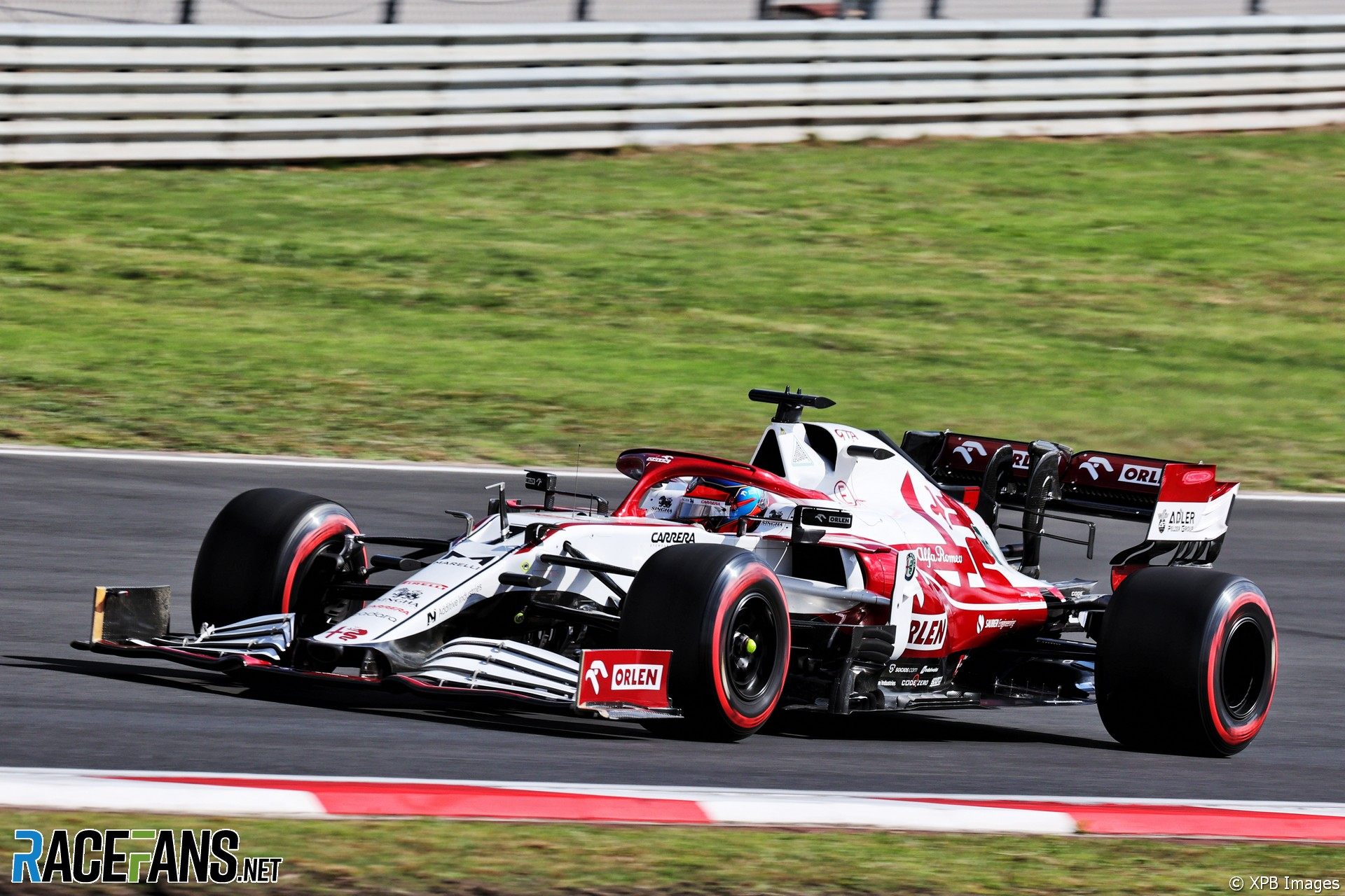 Kimi Raikkonen, Alfa Romeo, Istanbul Park, 2021