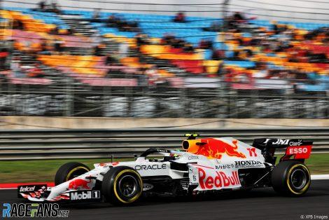 Sergio Perez, Red Bull, Istanbul Park, 2021