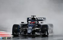 Gasly leads wet final practice session at Istanbul